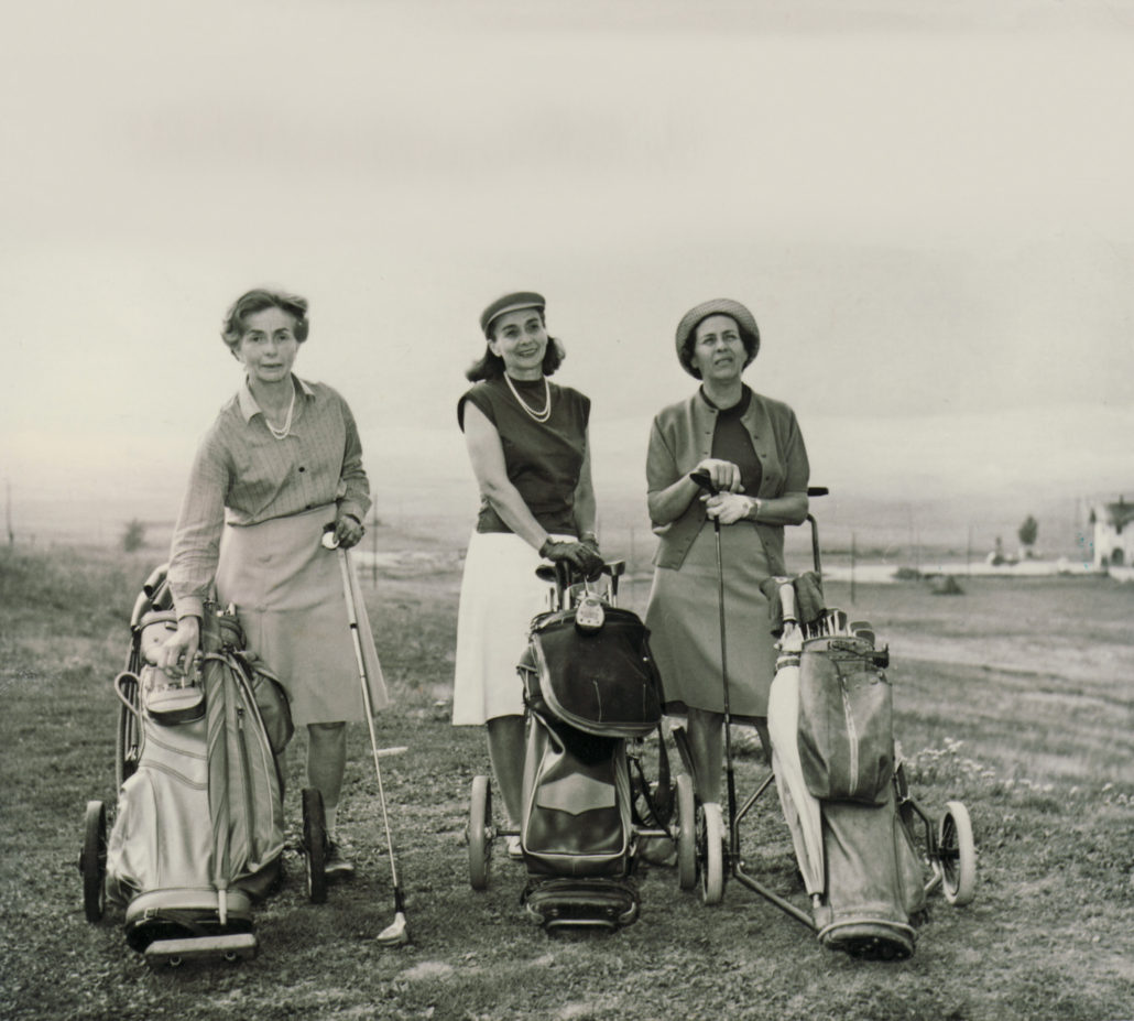 la parola golf e le donne