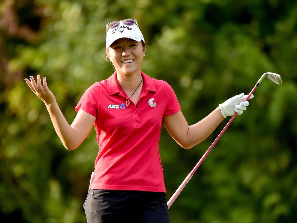 golfiste donne