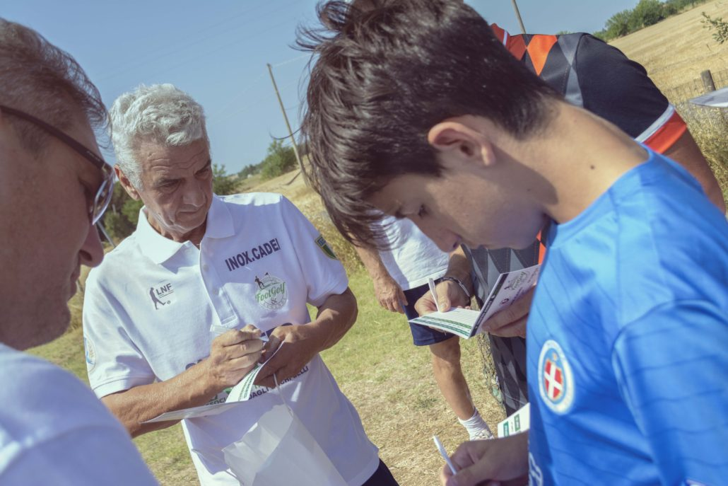torneo footgolf benefico