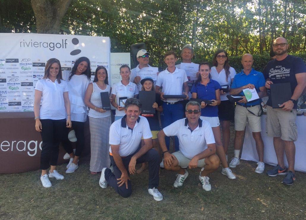 premiazione gara golf
