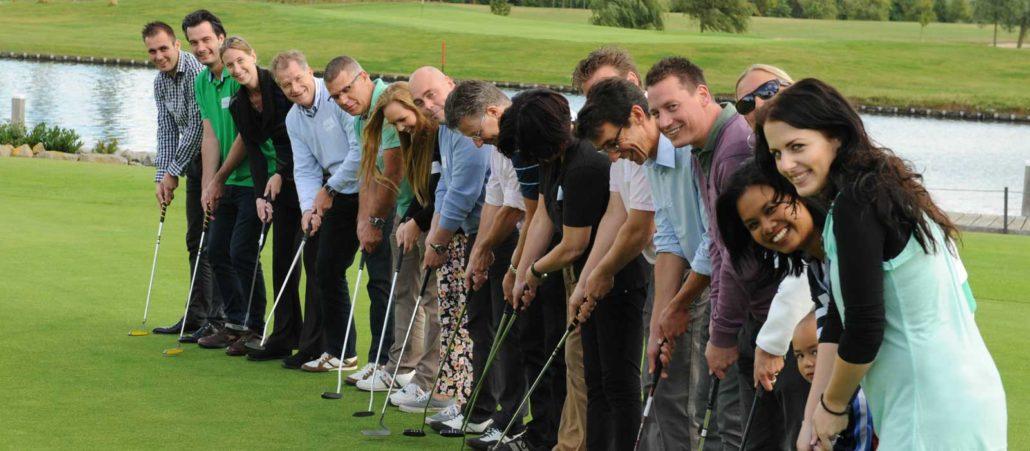 golf teambuilding